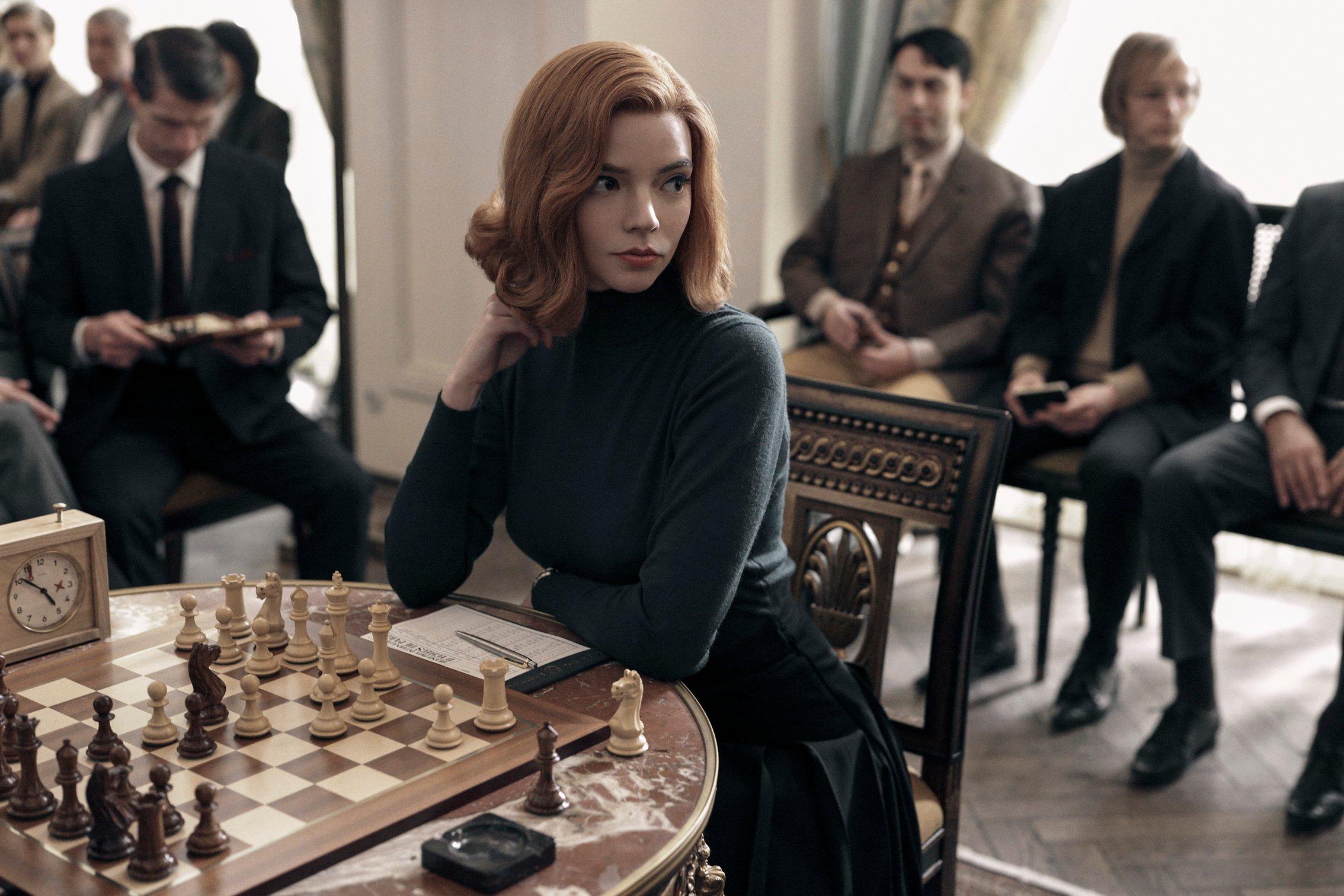 รีวิวหนังเรื่องThe Queen's Gambit (ปีที่ฉาย2020)